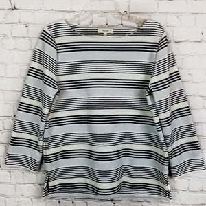 Madewell | Gallerist Ponte Top In Stripemix